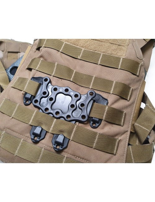 Molle adaptor for holsters